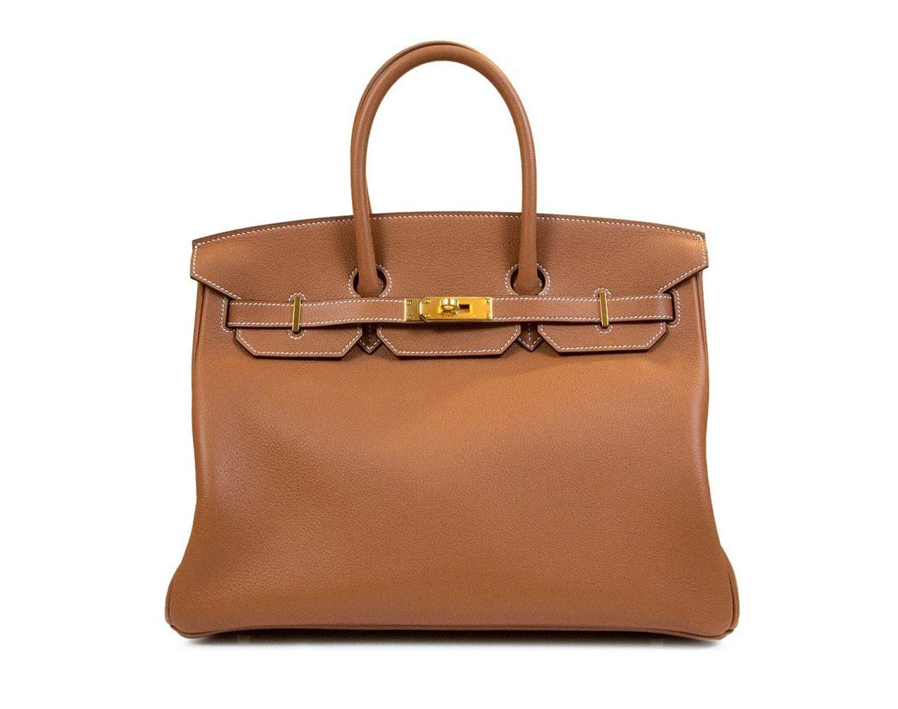 Bolso Birkin de Hermès/Farfetch.