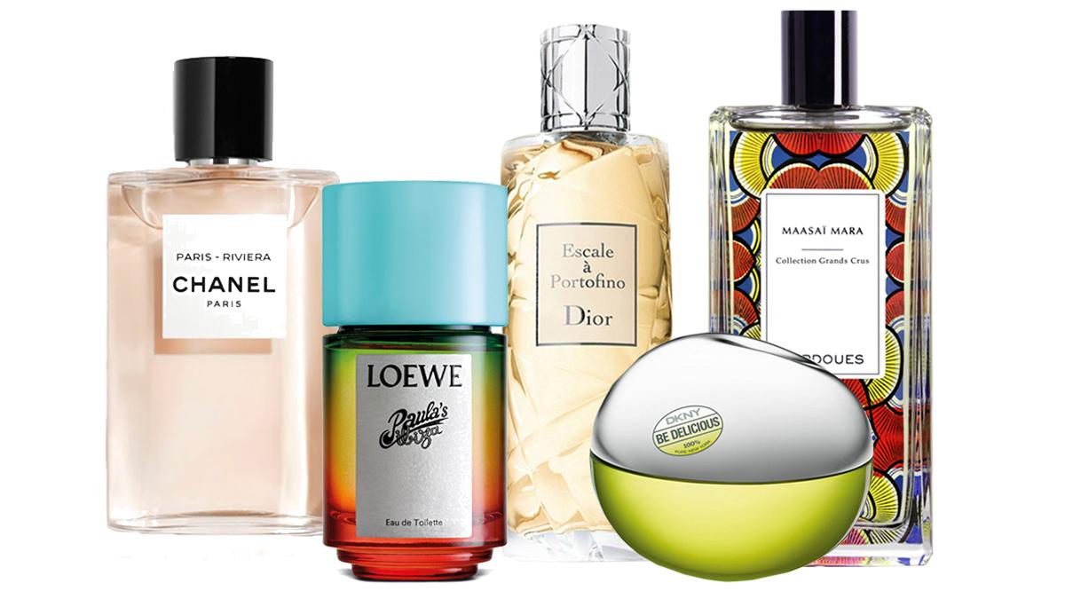 Perfumes frescos, destinos