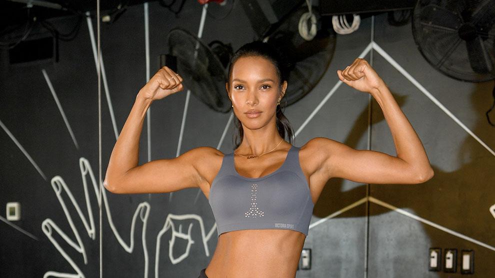 En la imagen, una modelo posa tras su clase de deporte. /Foto: Getty
