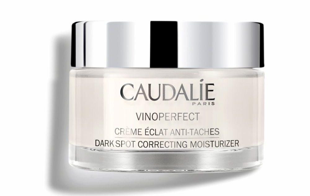 Crema antimanchas Vinoperfect de Caudalie, para cuidar la piel en otoño
