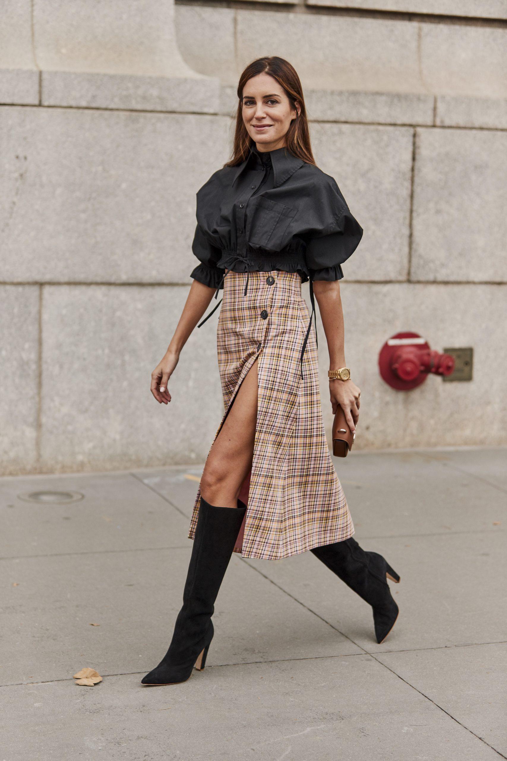 Faldas tendencia otoño-invierno, la de cuadros
