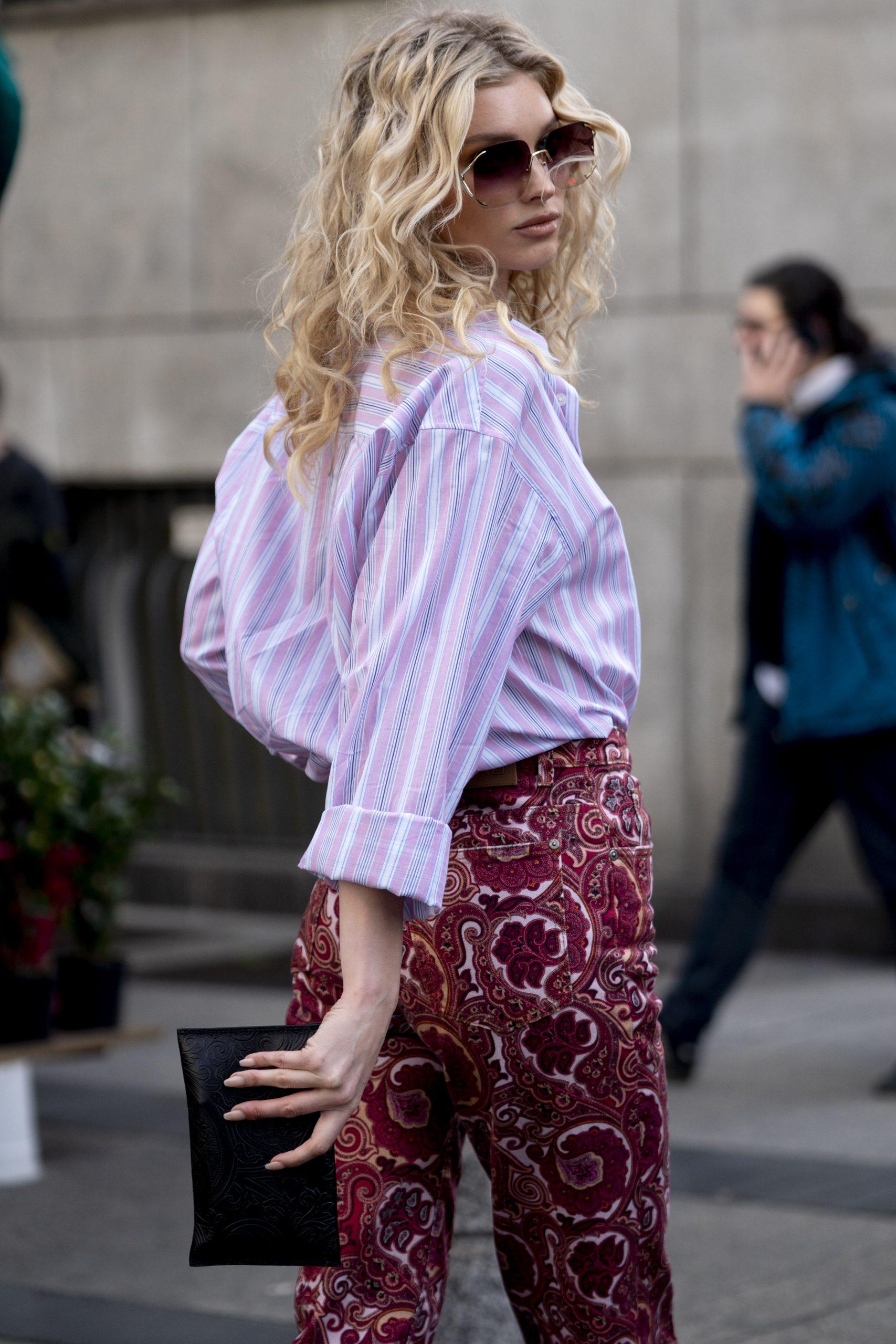 La modelo Elsa Hosk/Foto: Imaxtree.