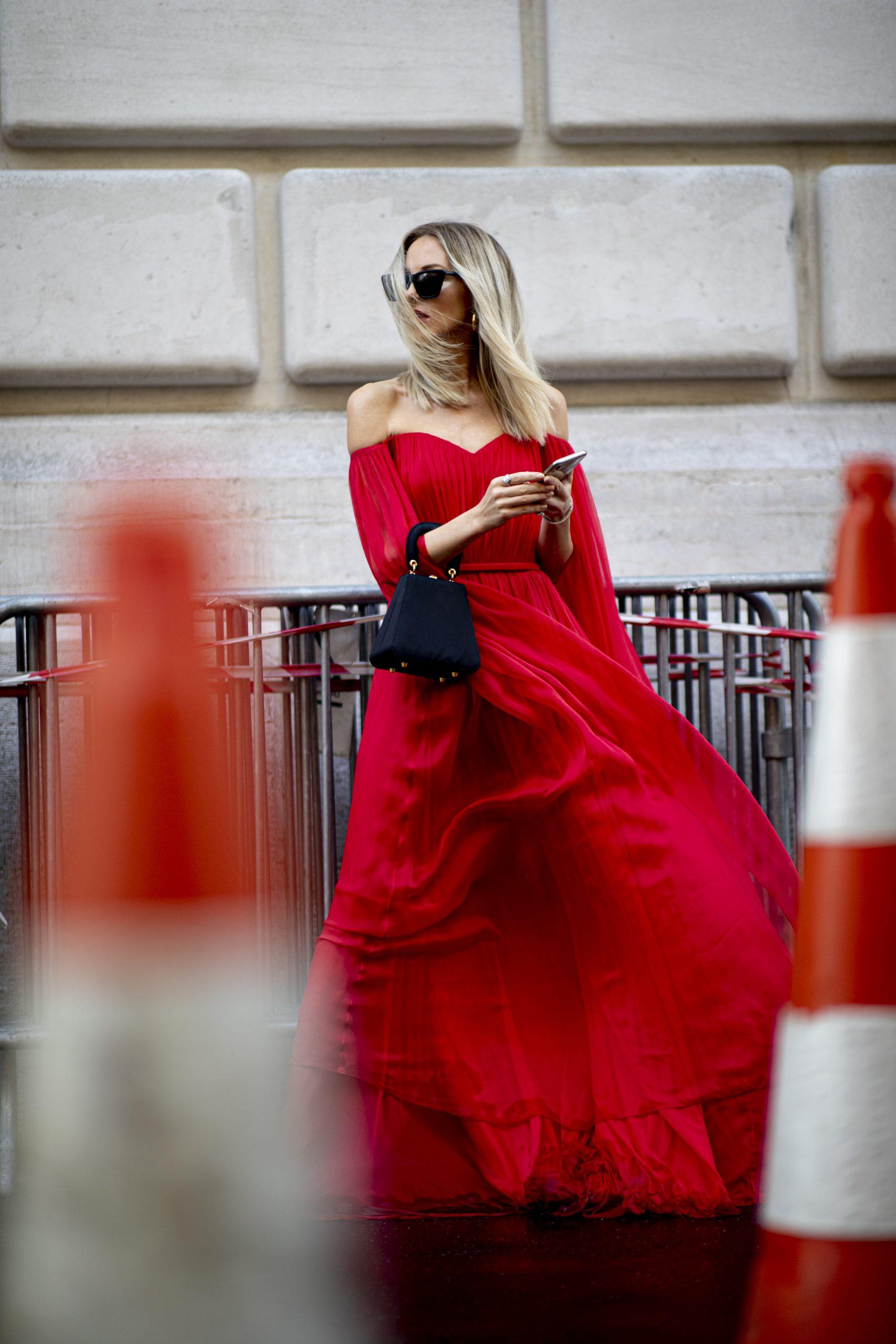 ¿Te atreves con un vestido rojo?/Imaxtree.