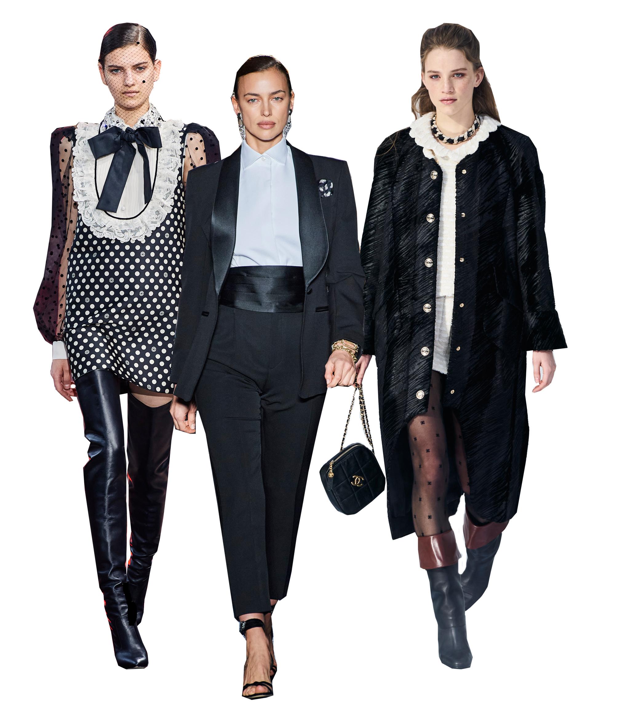 Colecciones otoño-invierno 2020/2021 de Elie Saab, Etro y Chanel/Imaxtree.