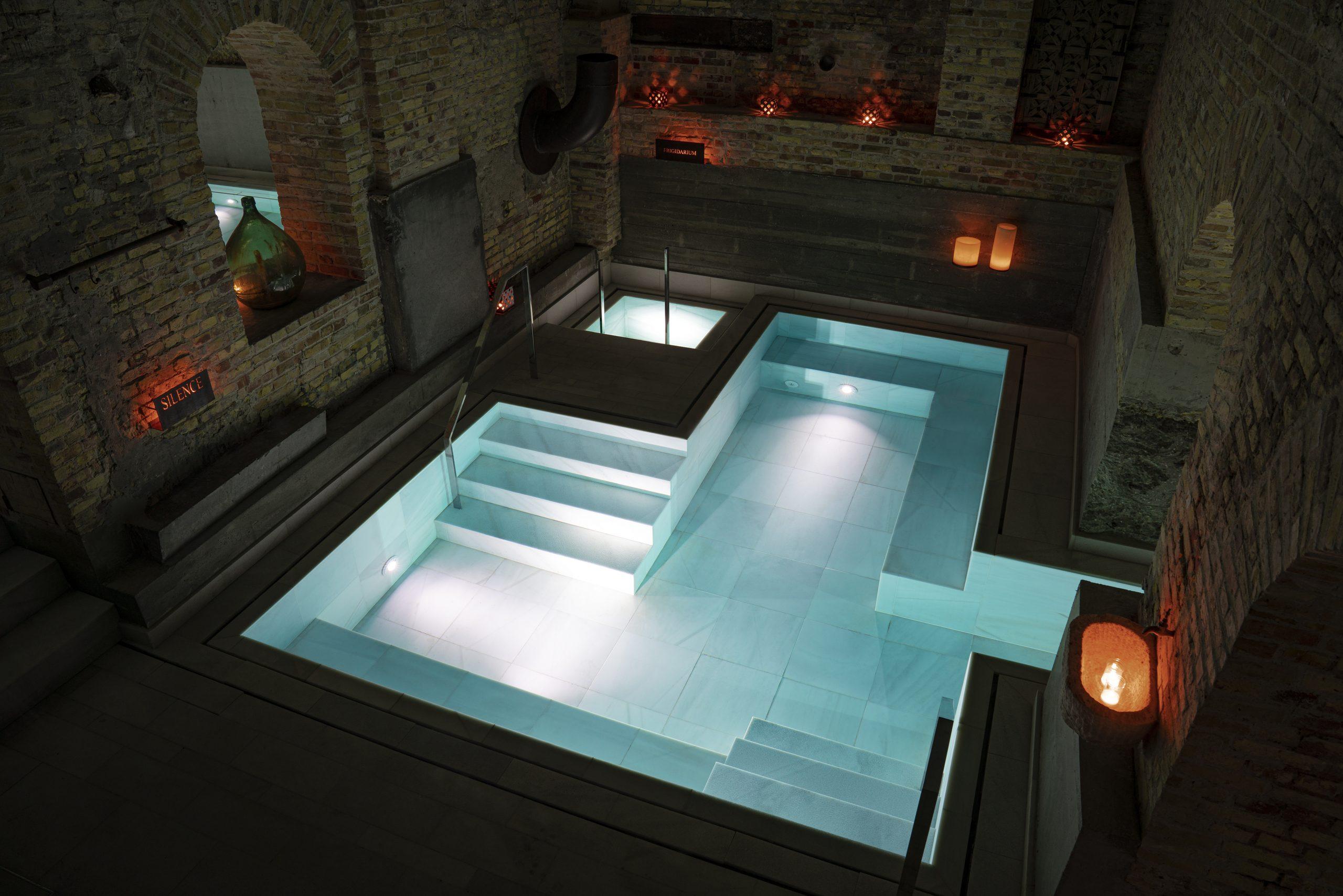 El nuevo spa de lujo español de Copenhague. / Cortesía de la marca