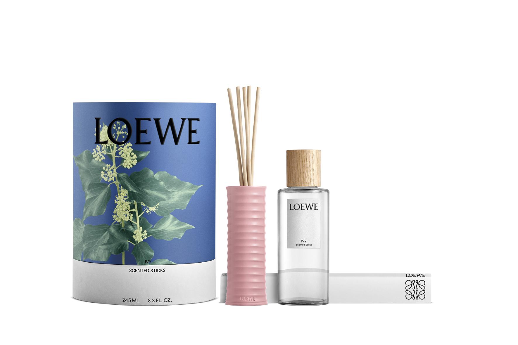 Loewe saca una colección de perfumes para casa. /Cortesía de la marca