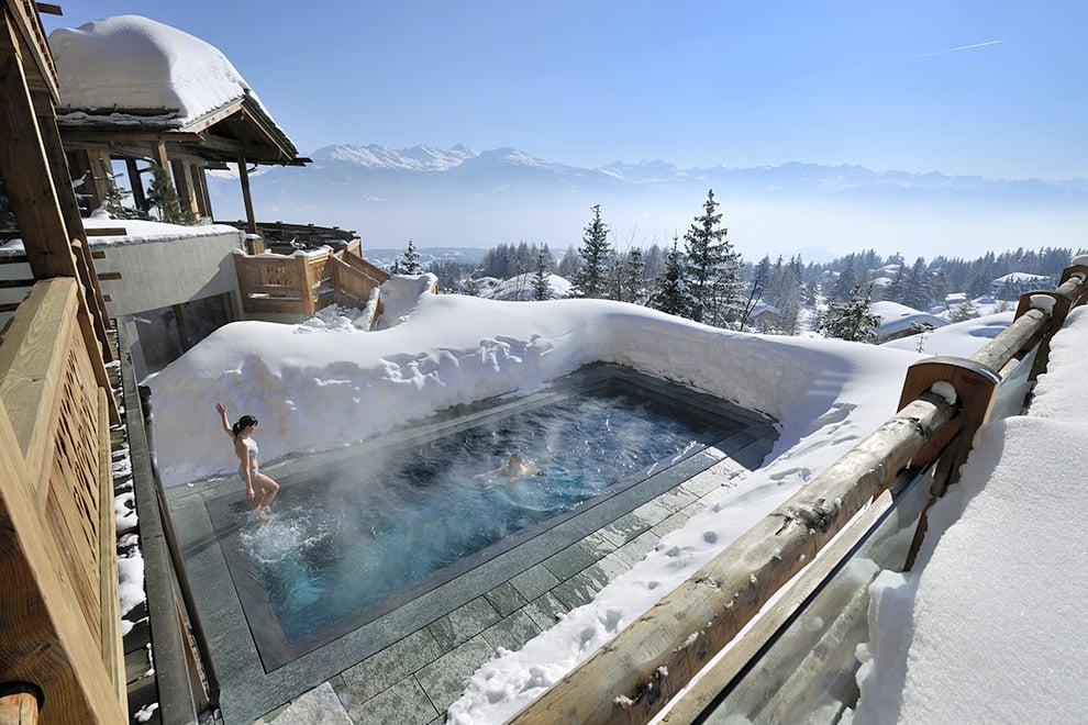 LeCrans Hotel & Spa en Crans-Montana, Suiza / Foto: LeCrans Hotel & Spa en Crans-Montana