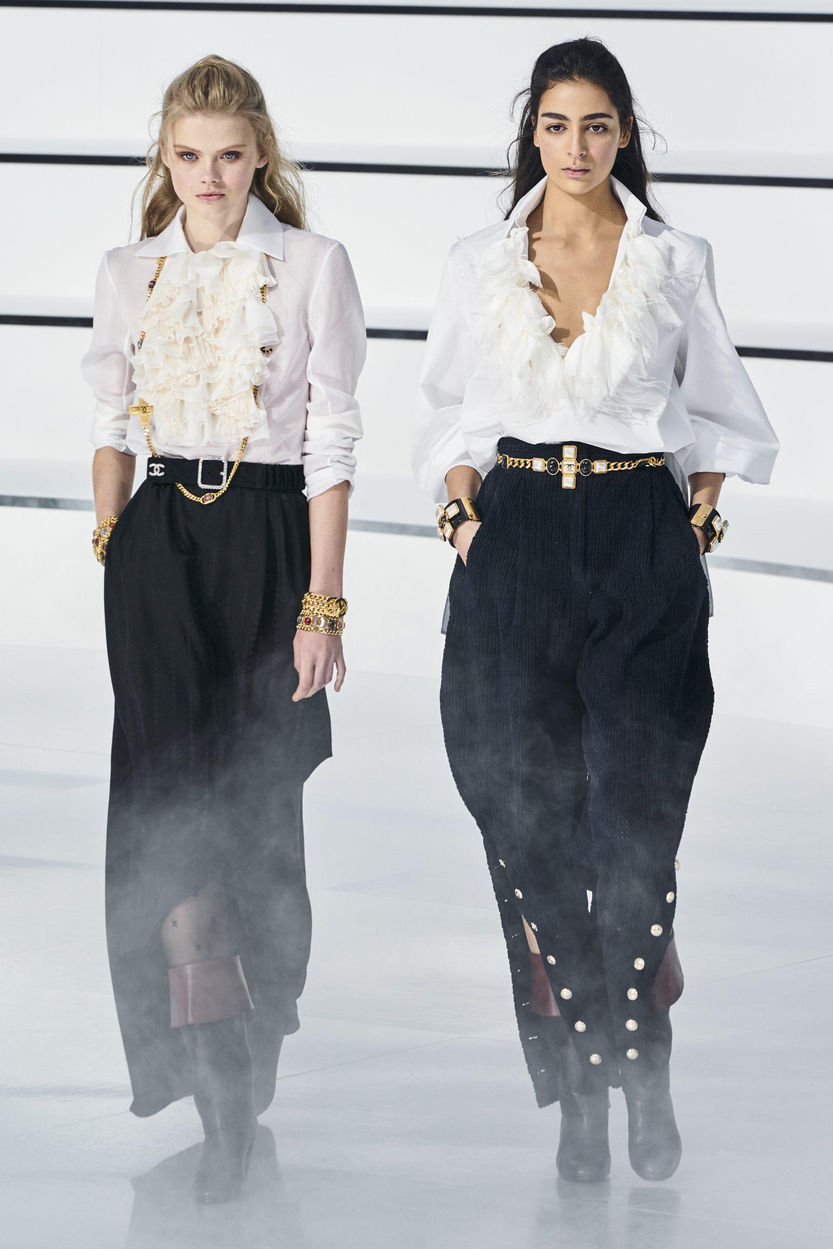 Desfile otoño-invierno 20/21 de Chanel/Foto: Imaxtree.