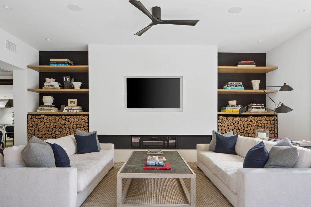 En la imagen, el salón principal de Cindy Crawford. /Foto: Oasisonlomavista