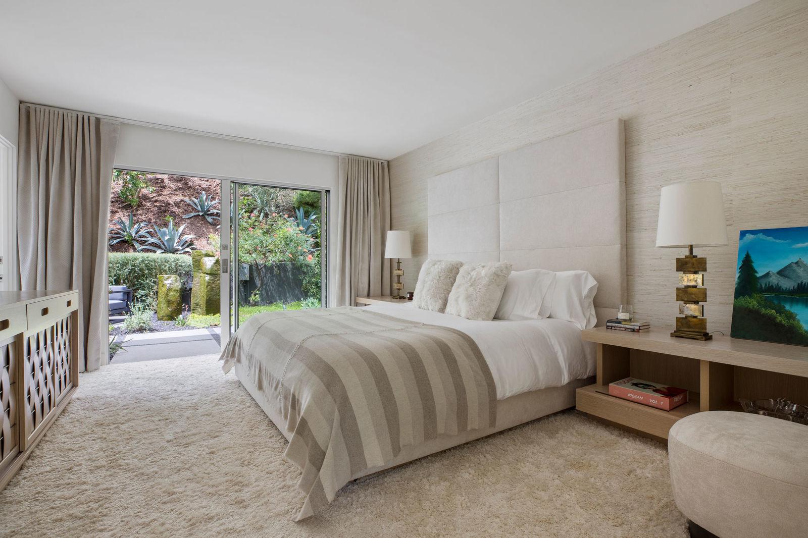En la imagen, una de las habitaciones de la casa. / Foto: Oasisonlomavista