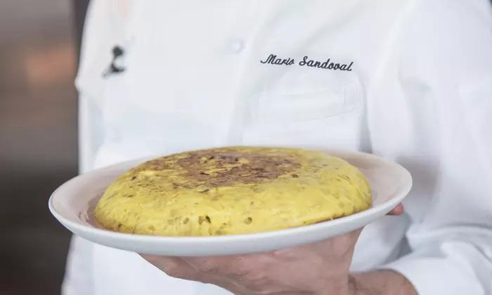 Tortilla de patatas más cara del mundo