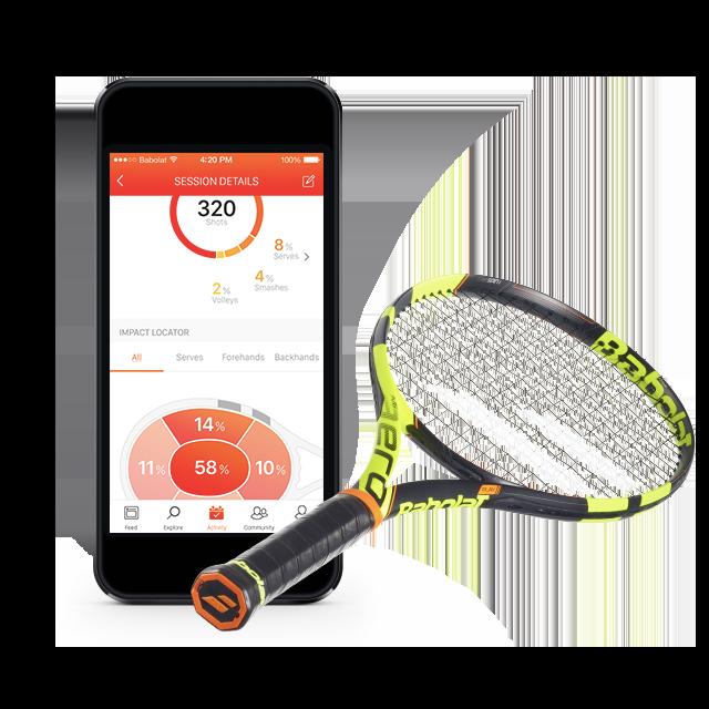 La primera raqueta de tenis inteligente del mercado
