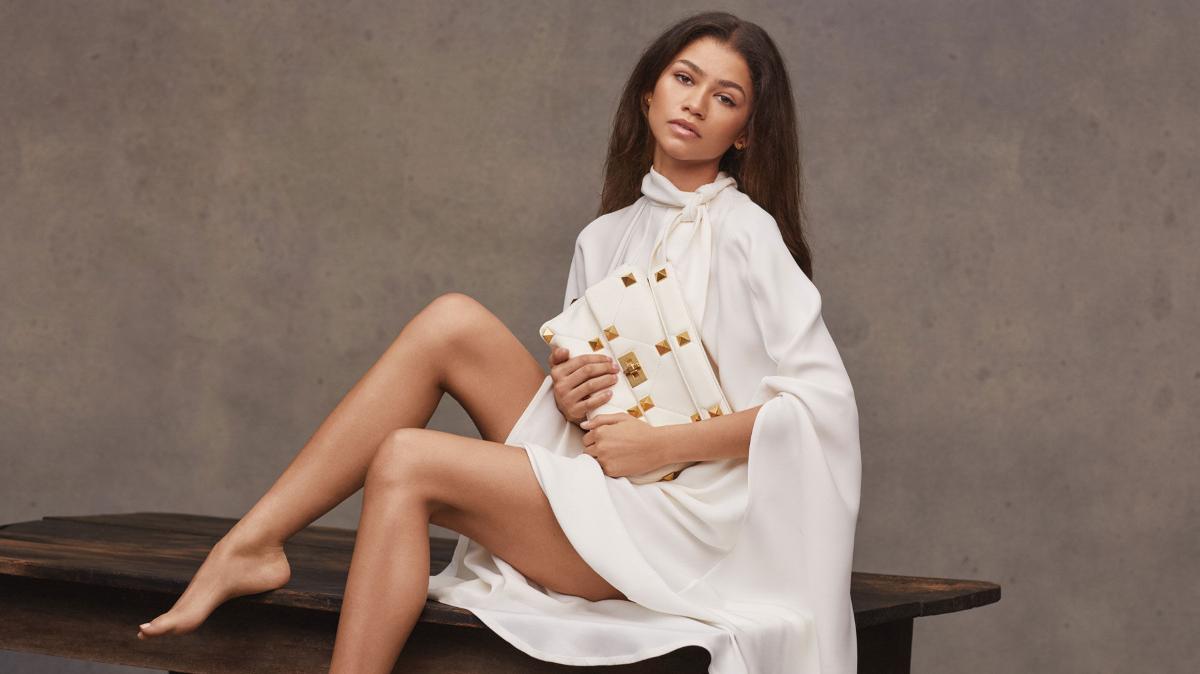 Zendaya imagen de la última campaña de Valentino