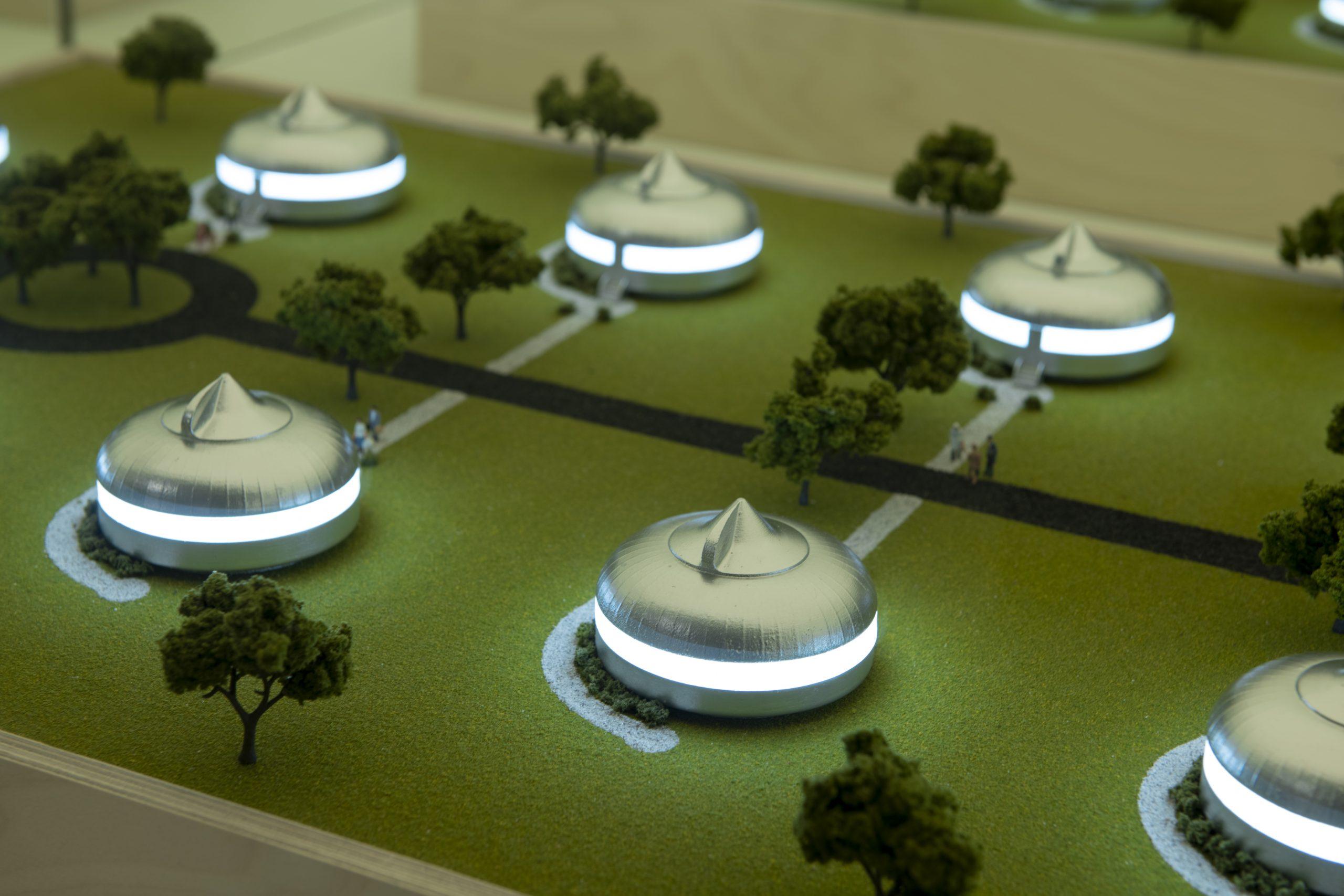 Exposición de Buckminster Fuller