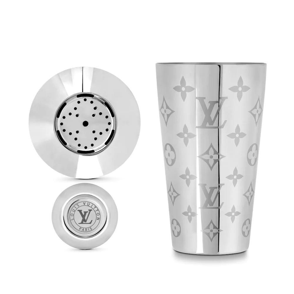 En la imagen, coctelera de Louis Vuitton. /Foto: Cortesía de la marca.