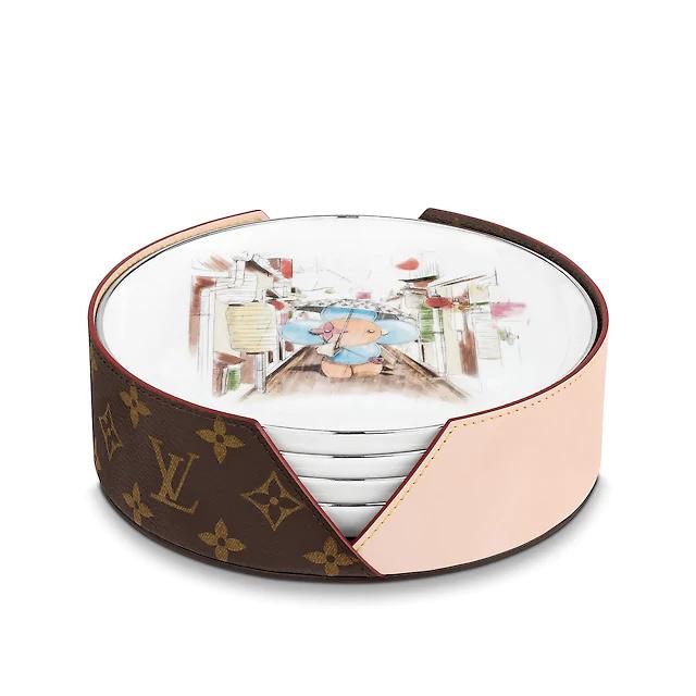 Bajoplatos de Louis Vuitton. / Foto: Cortesía de la marca.