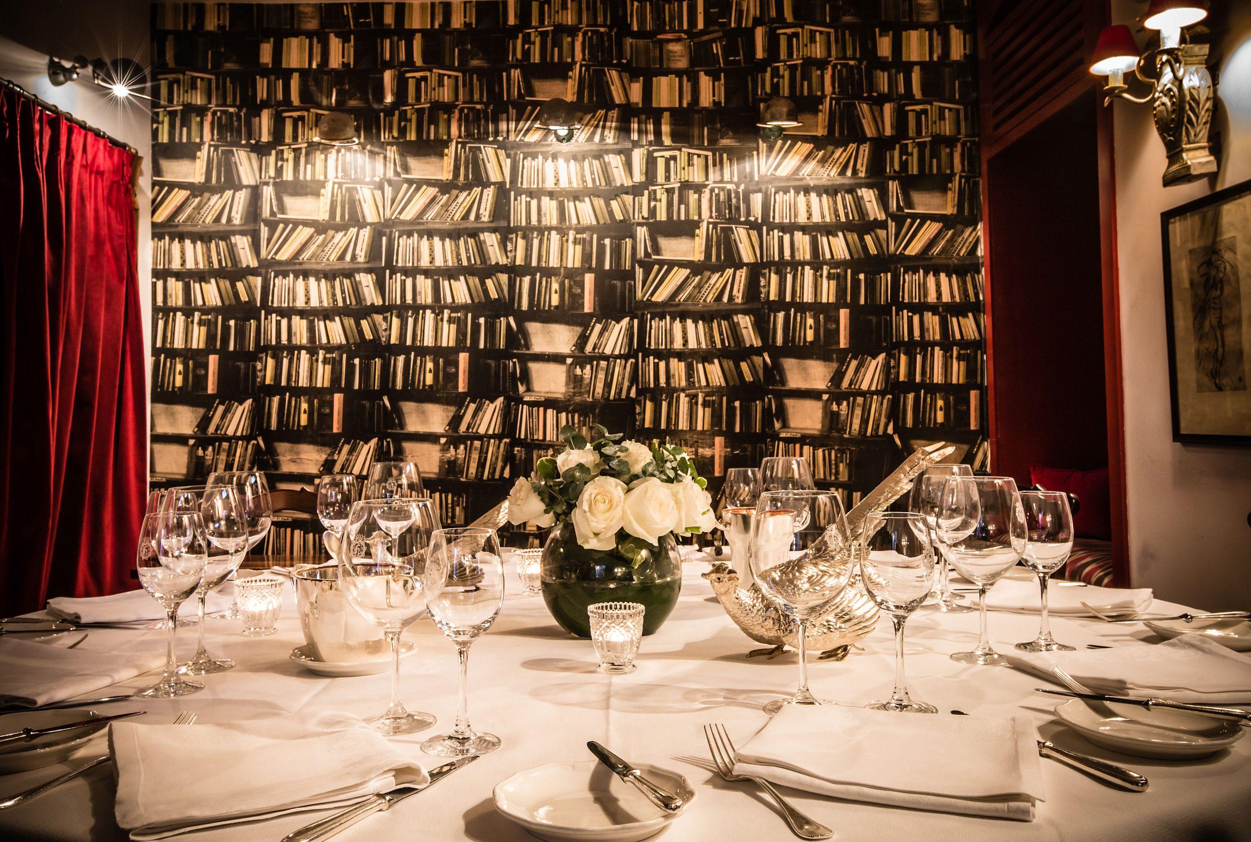 Reservado restaurante Horcher, Madrid