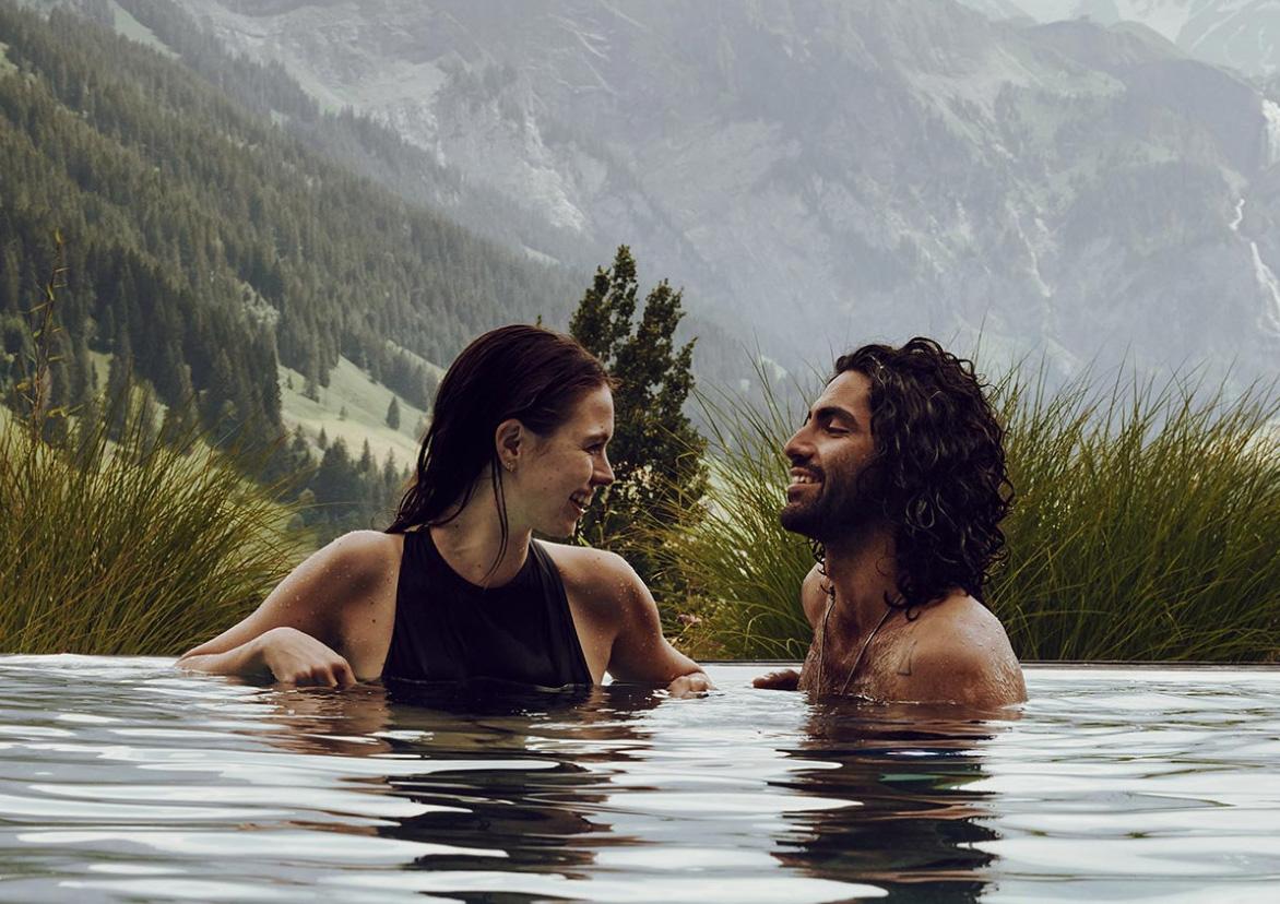 Infinity pools montañas