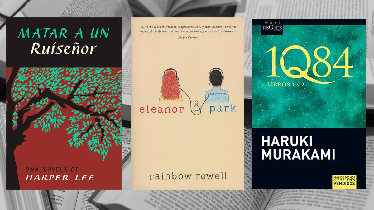Las portadas de libros más compartidas en instagram.