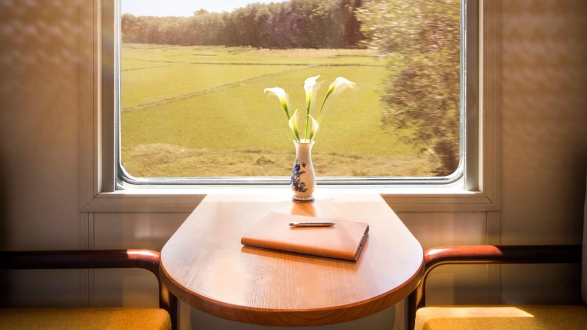 El interior del tren / Foto: thevietagetrain.com