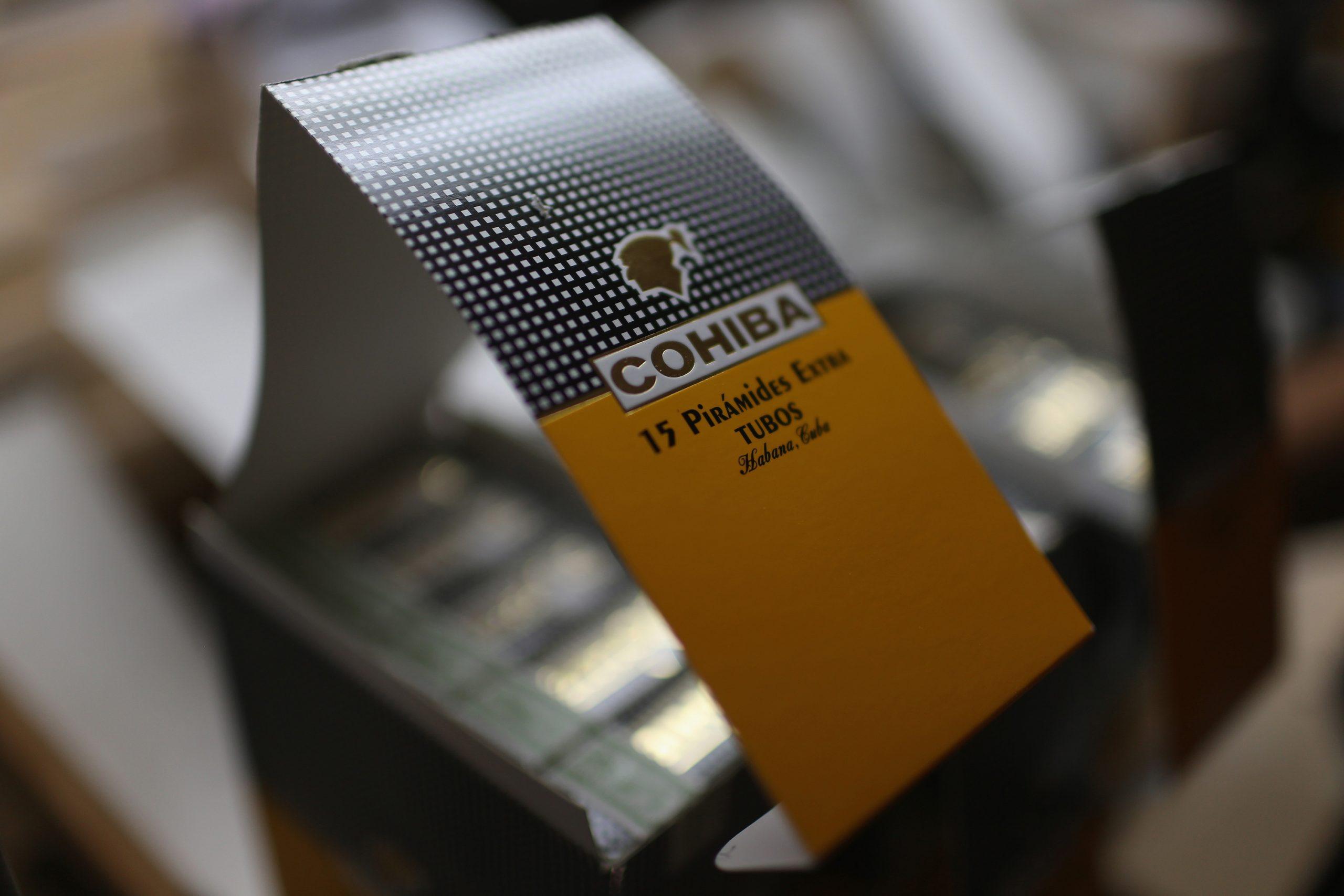 Cajas de Cohiba