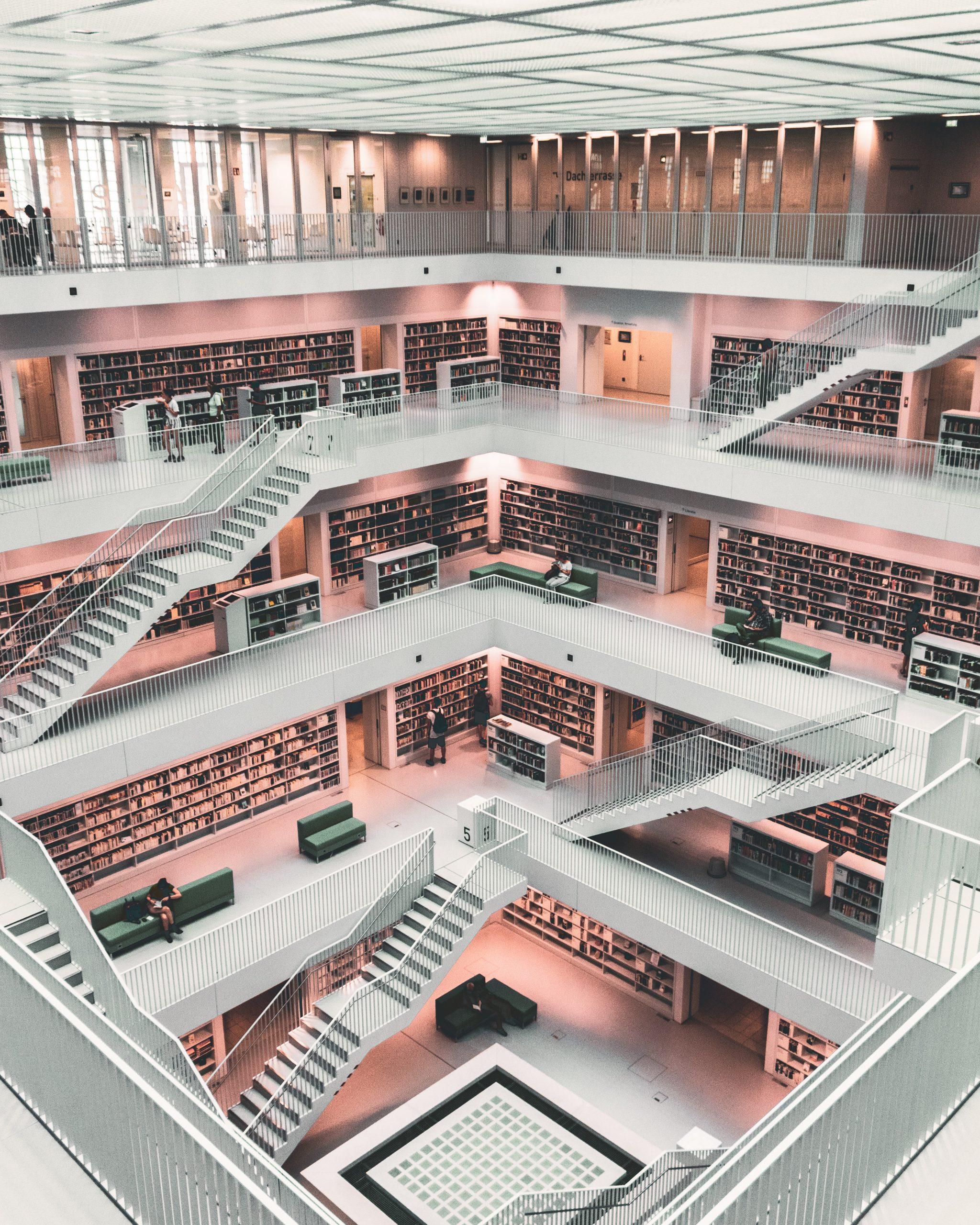 las librerías y bibliotecas más bonitas