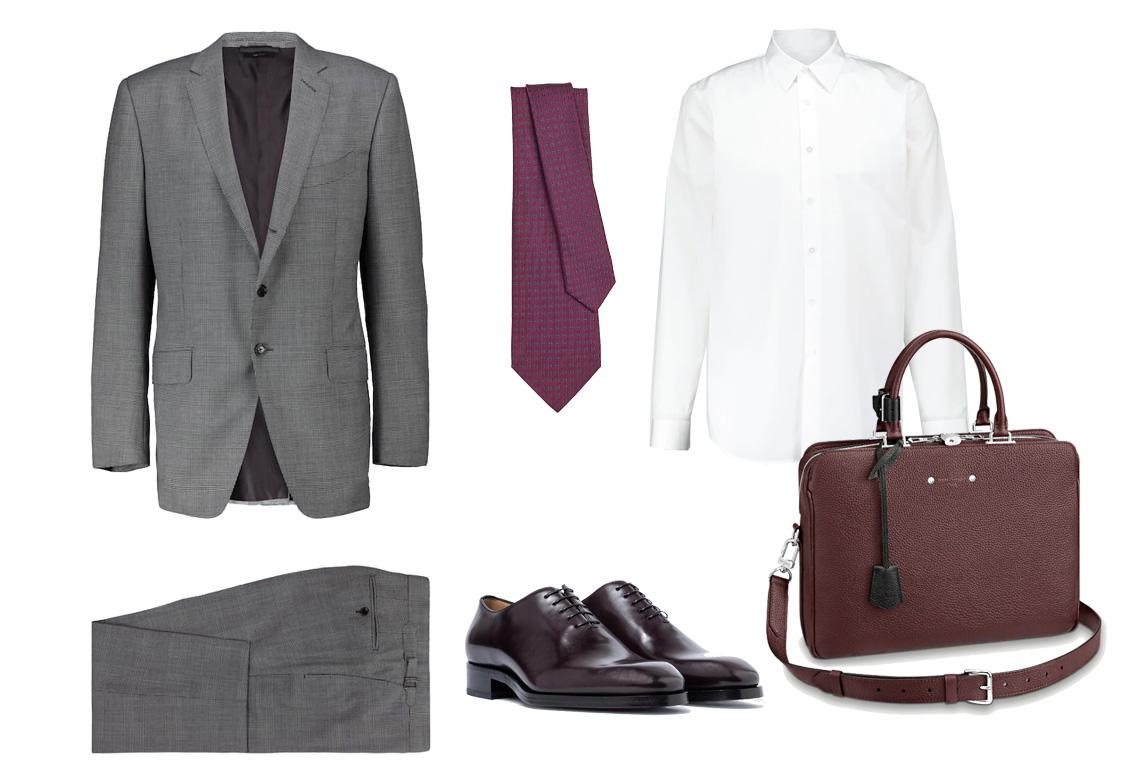 Look para ir a la oficina con traje/Foto: Cortesía marcas.