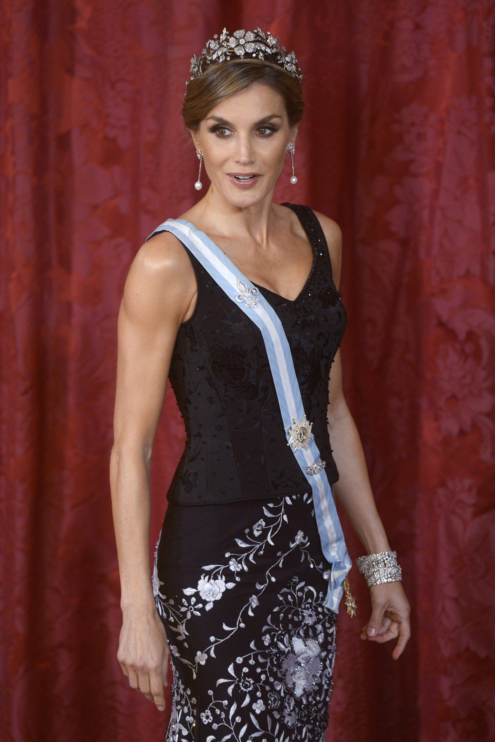las joyas de la realeza, reina Letizia