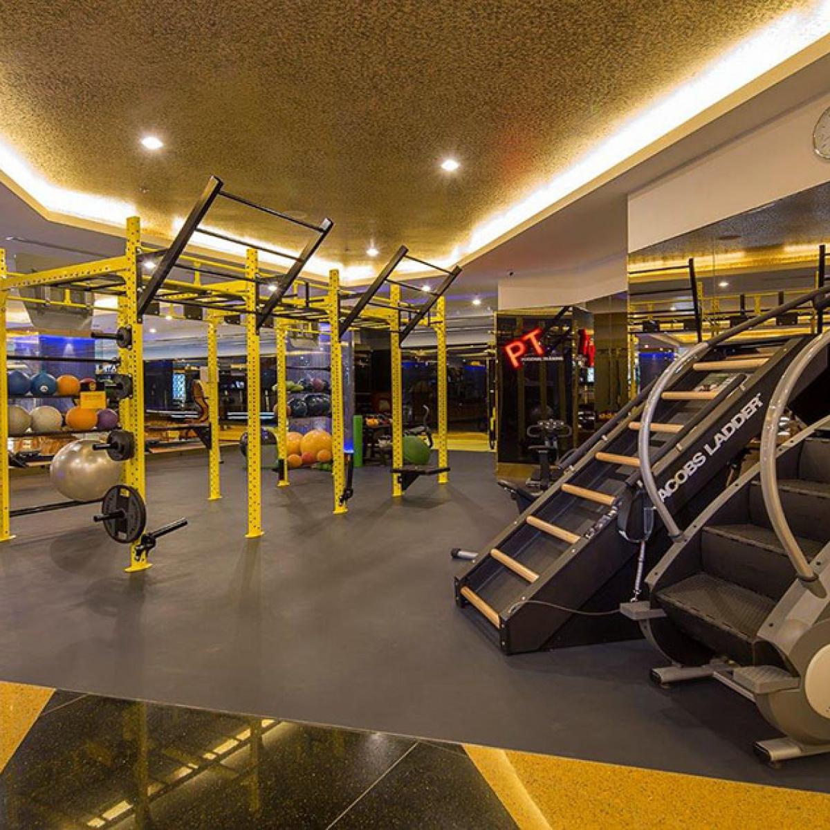 En la imagen, una de las salas del Royal City Club. /Foto: Cortesía de Royal City Club.