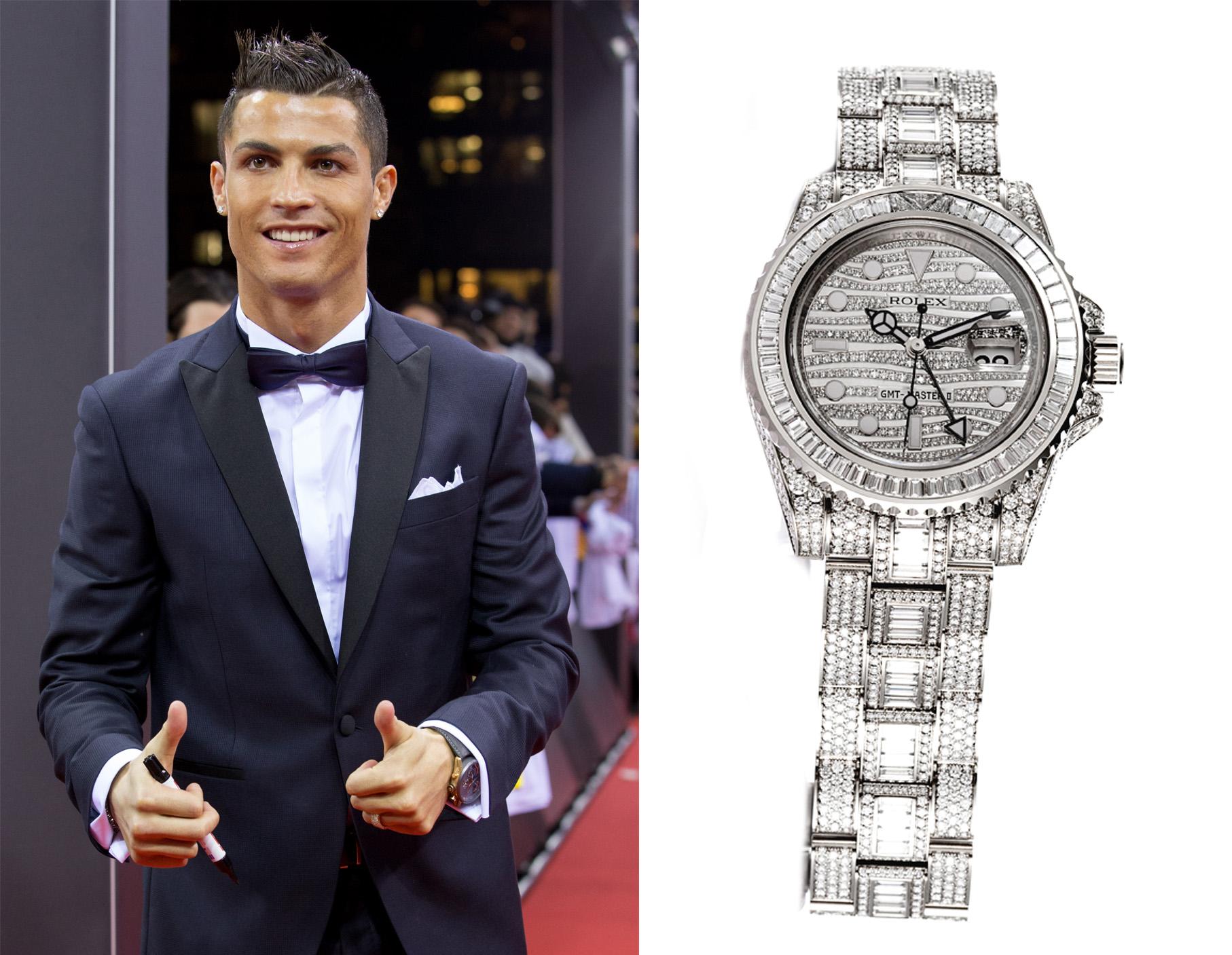 Reloj de Cristiano Ronaldo.