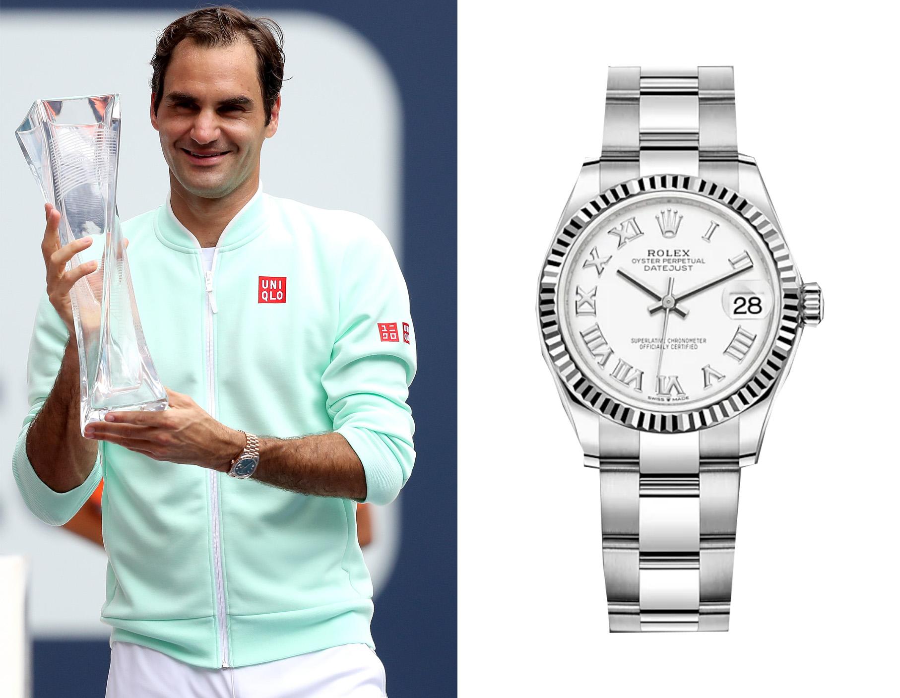 Relojes de deportistas y celebrities.
