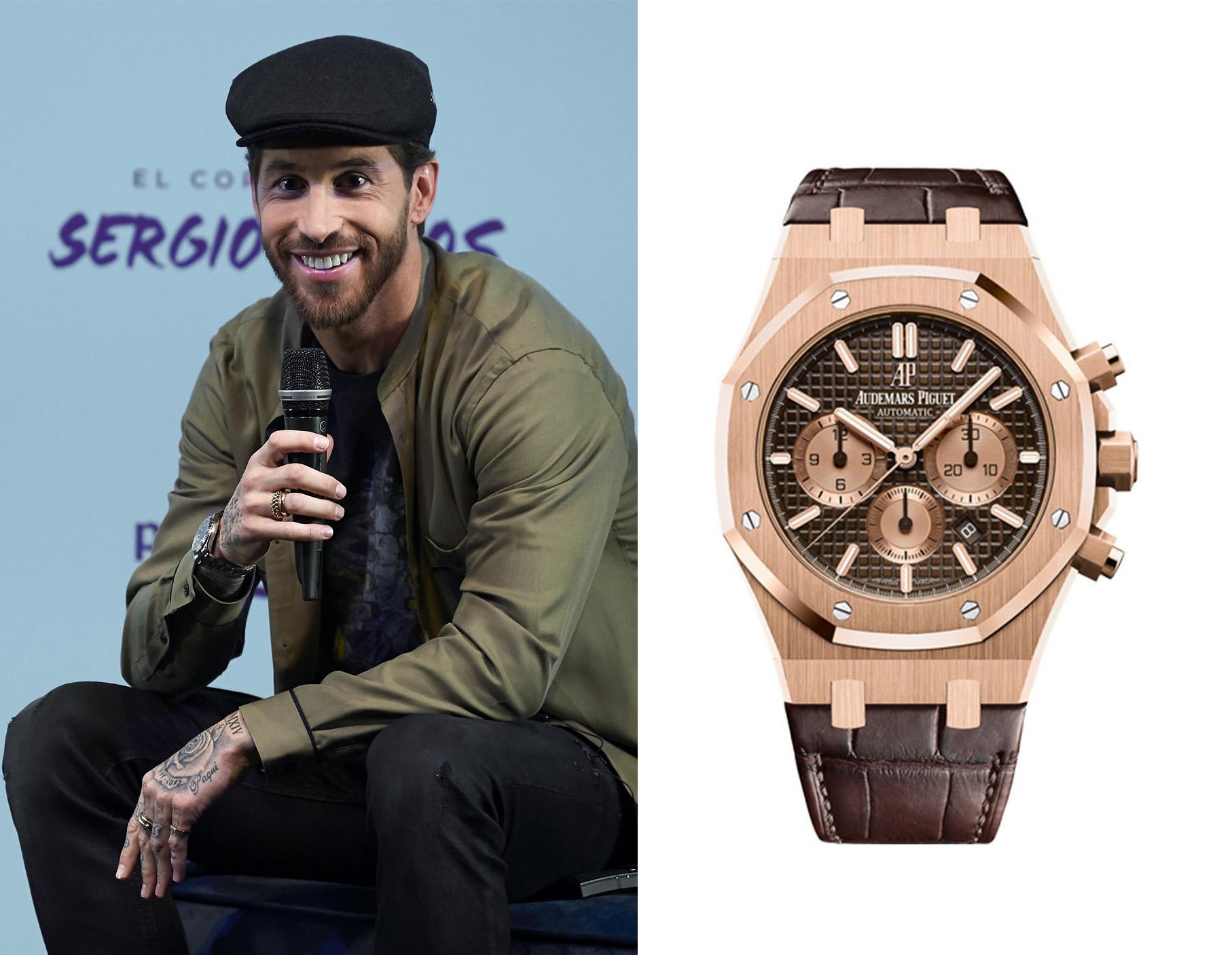 Reloj de Sergio Ramos.