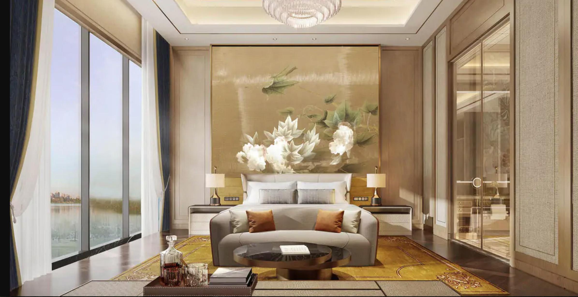 Habitación del hotel Gran Meliá Chengdu.