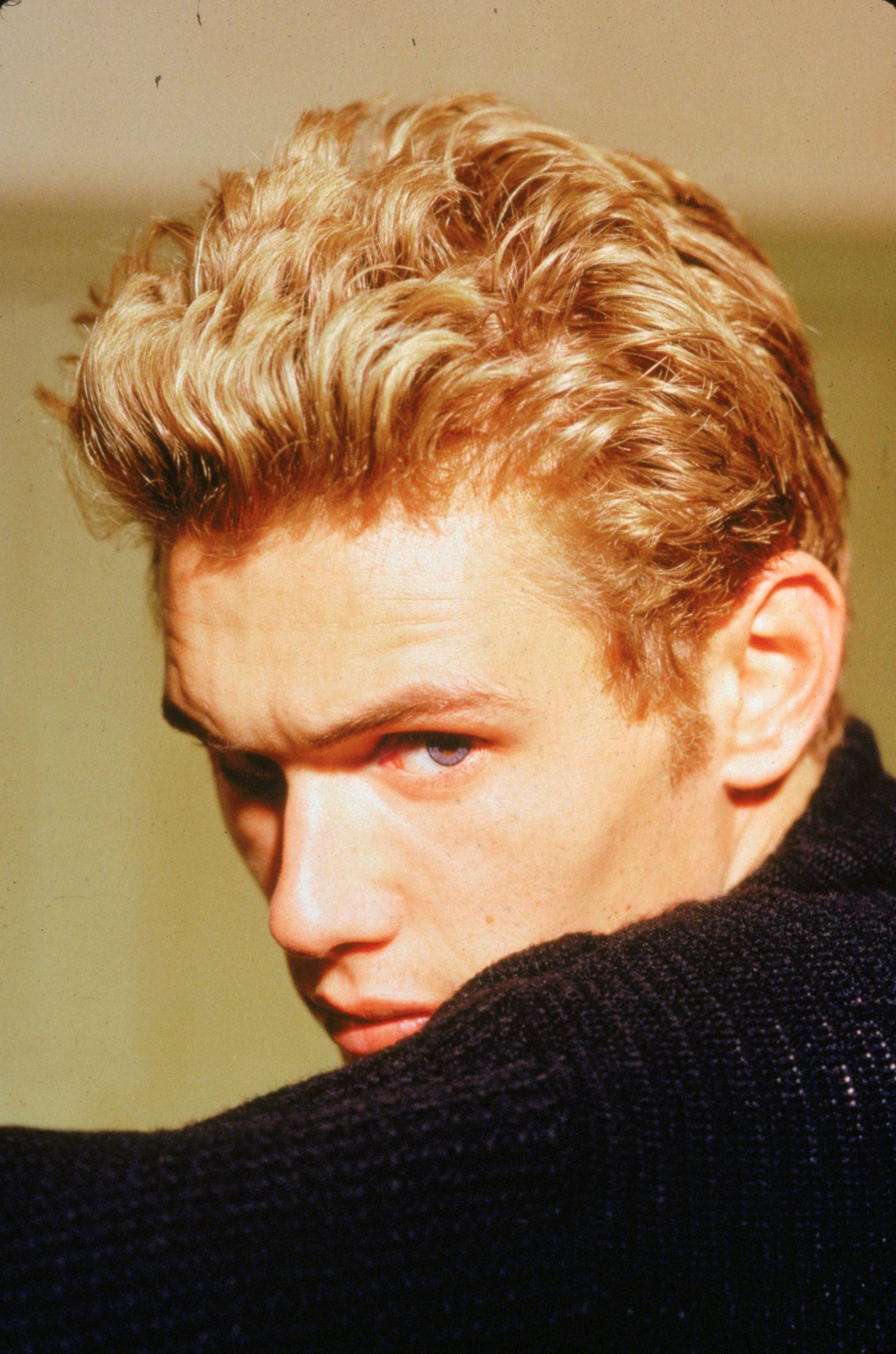 Un retrato del actor James Dean. /Foto: Getty