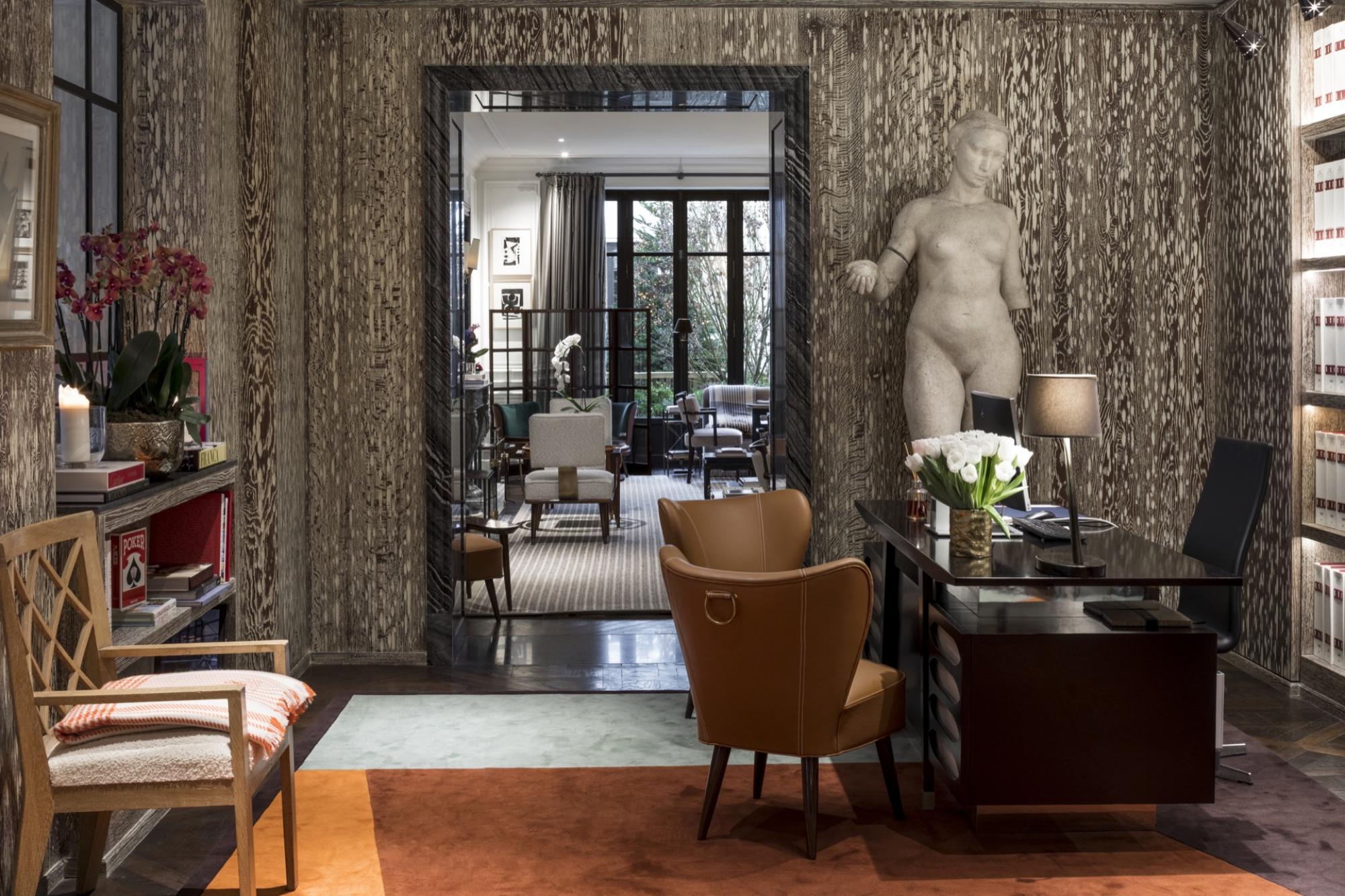 Interior del hotel J.K. Place París