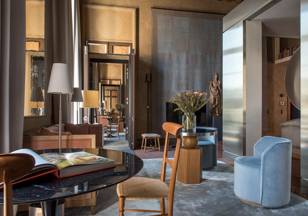Interior de una de las Suites del hotel Cour Des Vosges.