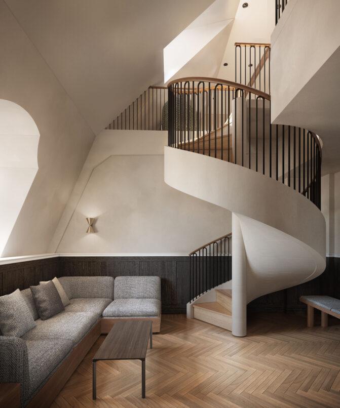 Penthouse Suite Villa Copenhagen