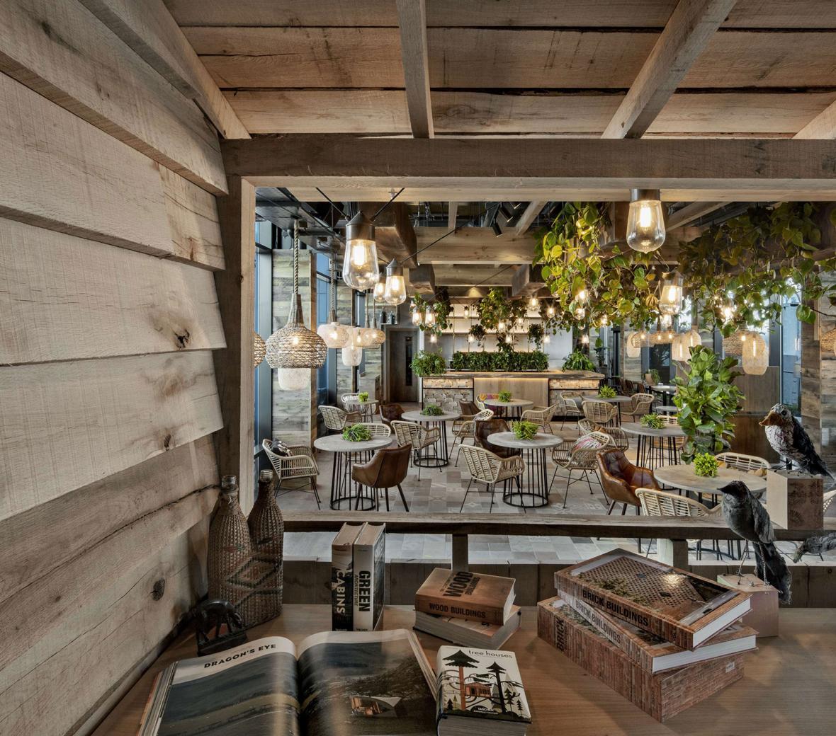 Restaurante Toca Madera en Treehouse Londres.