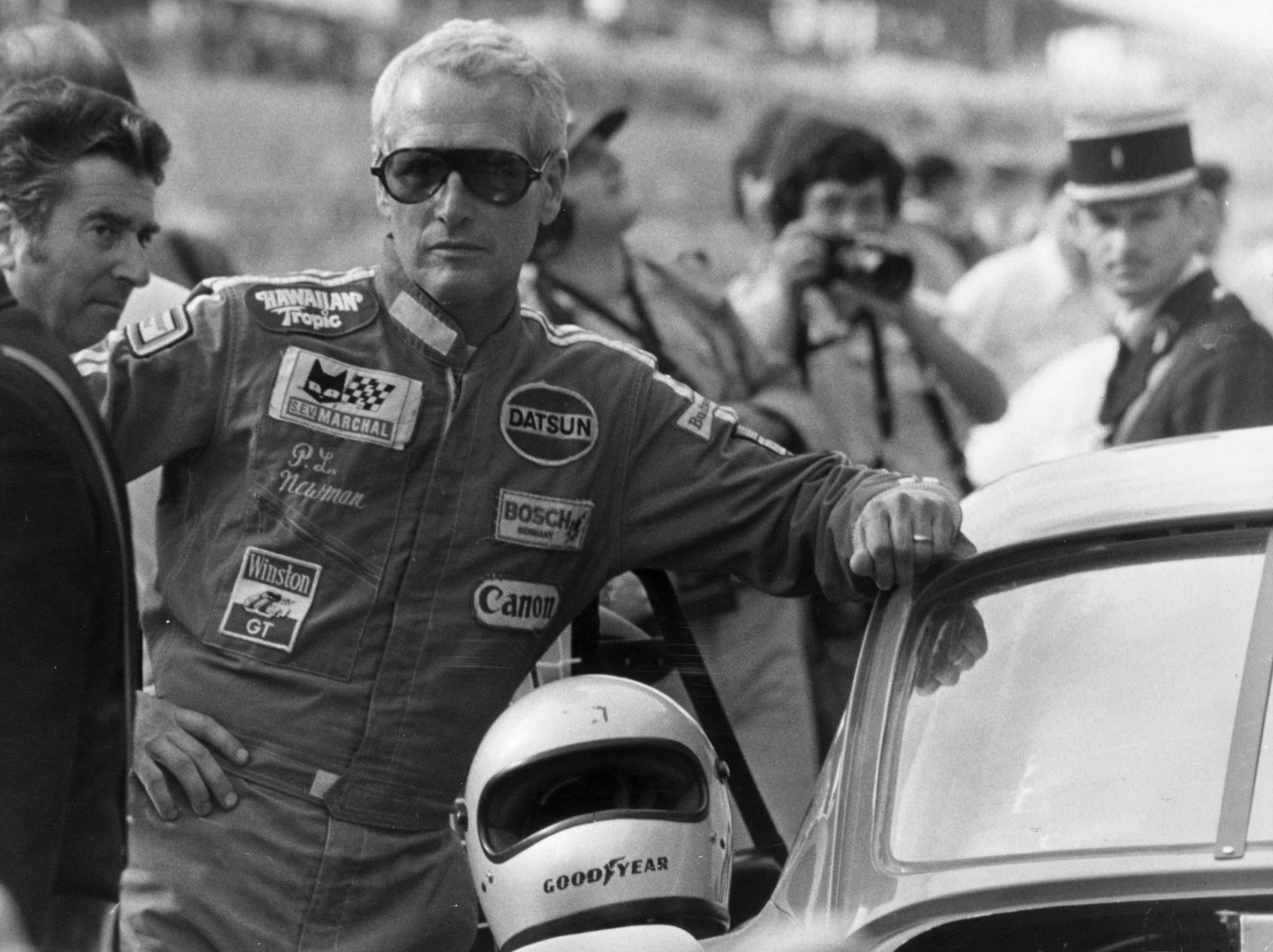 En la imagen, el actor Paul Newman en Le Mans 1979. /Foto: Getty