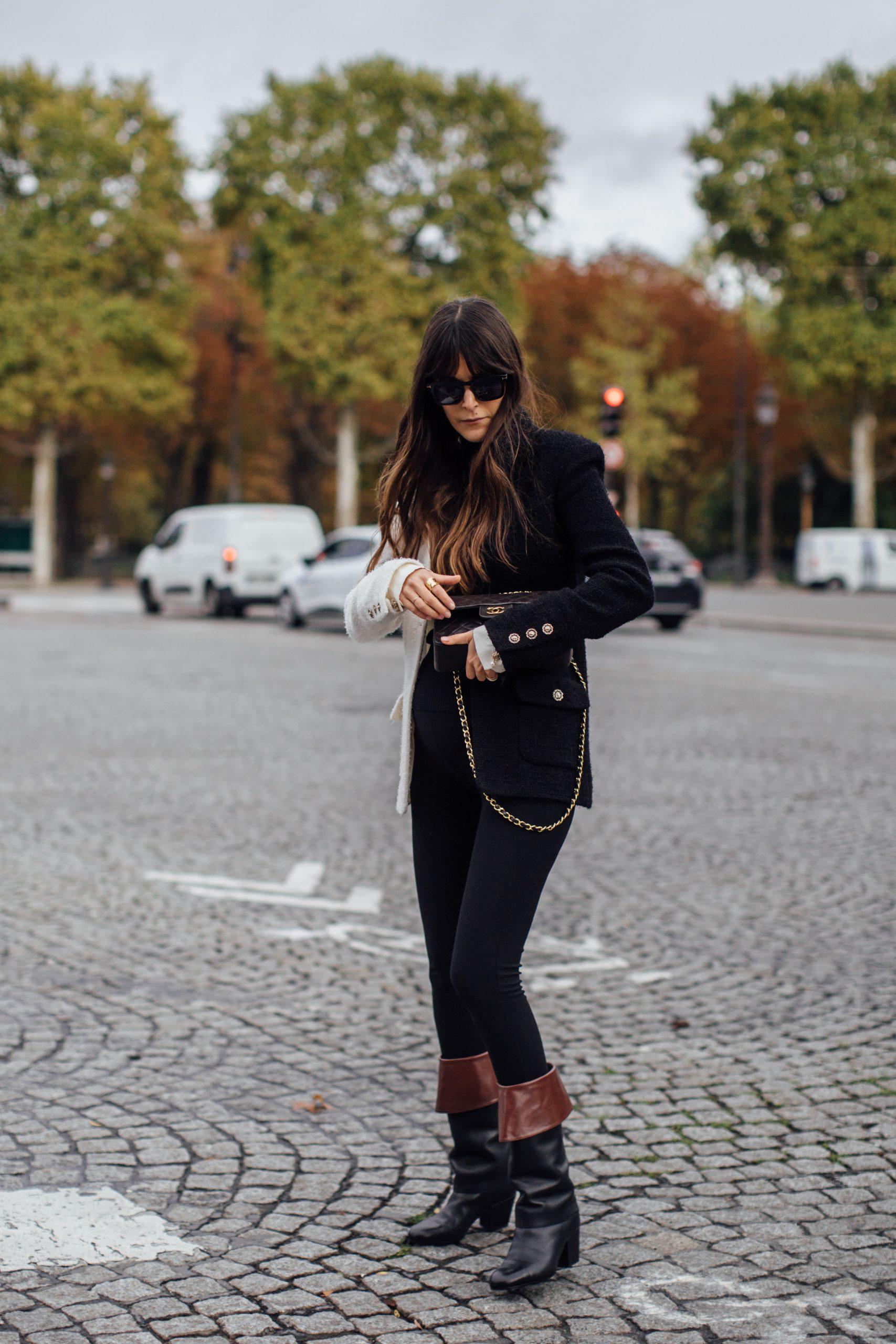 Botas tendencia, Chanel