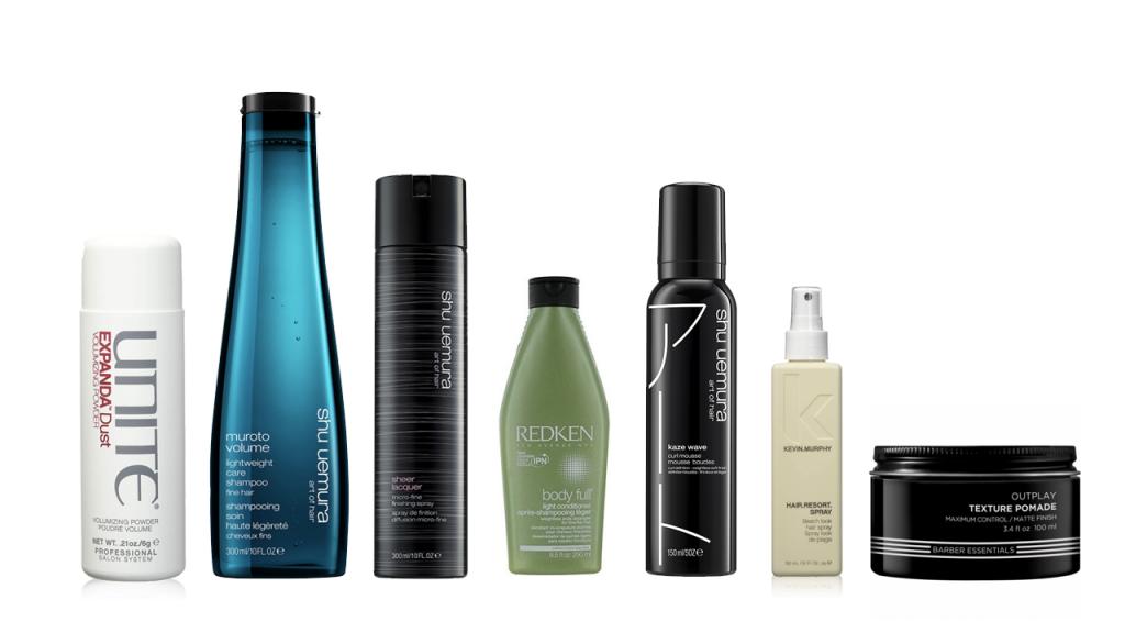 En la imagen, una selección de productos capilares para hombre. /Foto: Cortesía de las marcas.