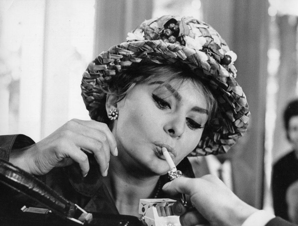 Sophia Loren en 1961. /Foto: Getty