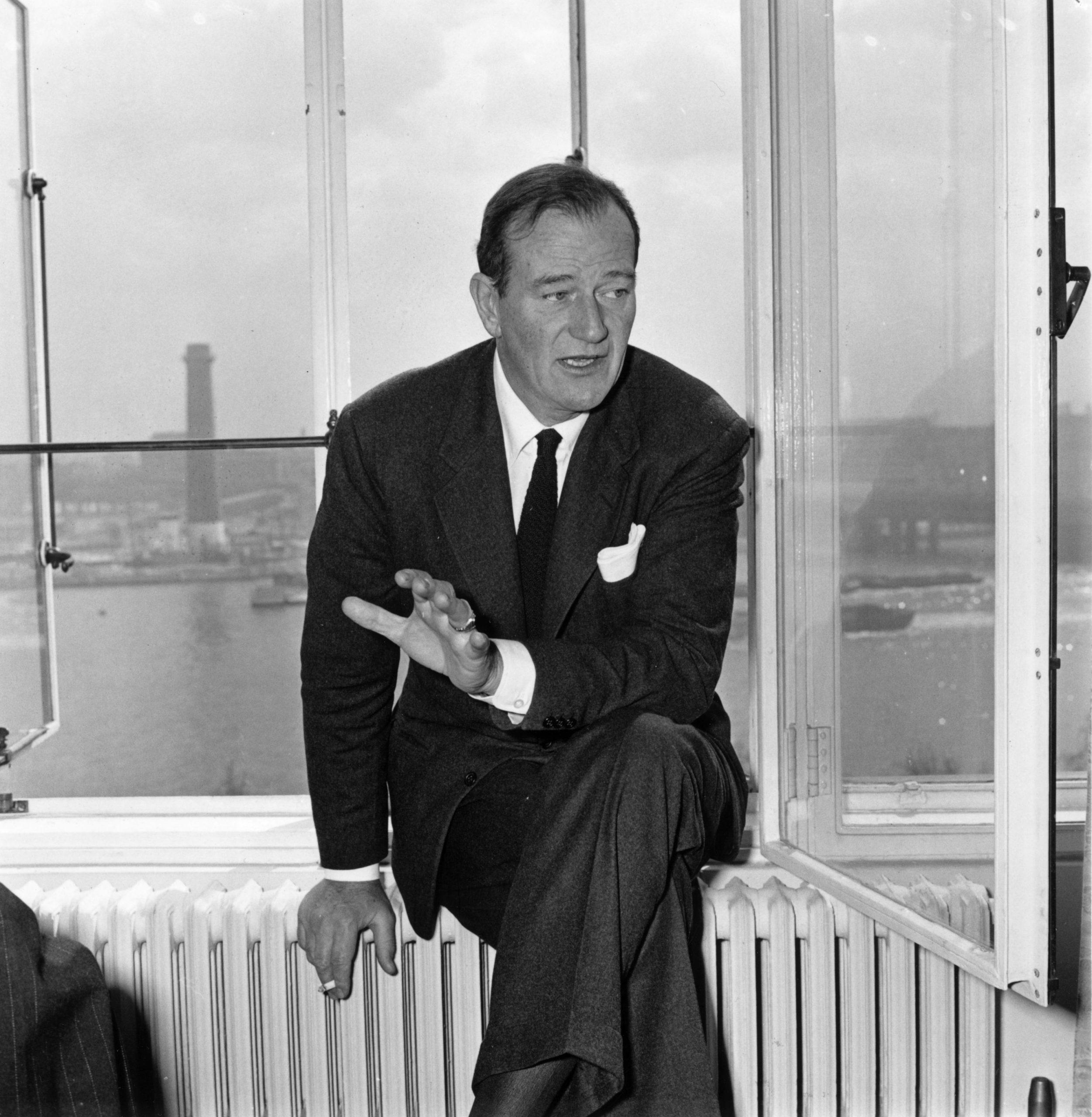 John Wayne en 1957. /Foto: Getty