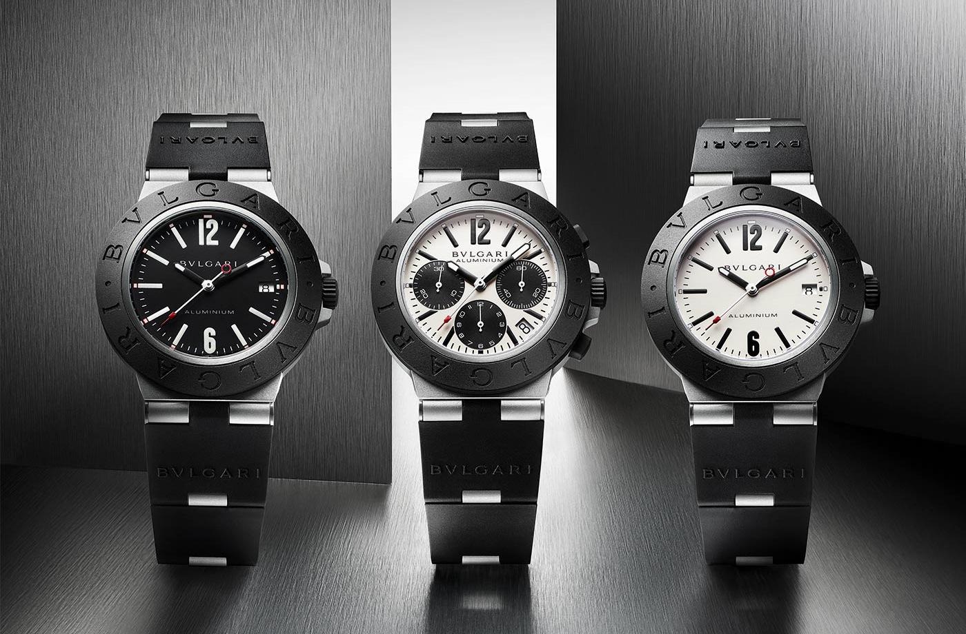 Nuevos relojes Bvlgari Aluminium/Foto: Bvlgari.