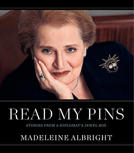 En la imagen, la portada del libro My Pins: Stories from a Diplomat's Jewel Box. /Foto: Cortesía de la editorial