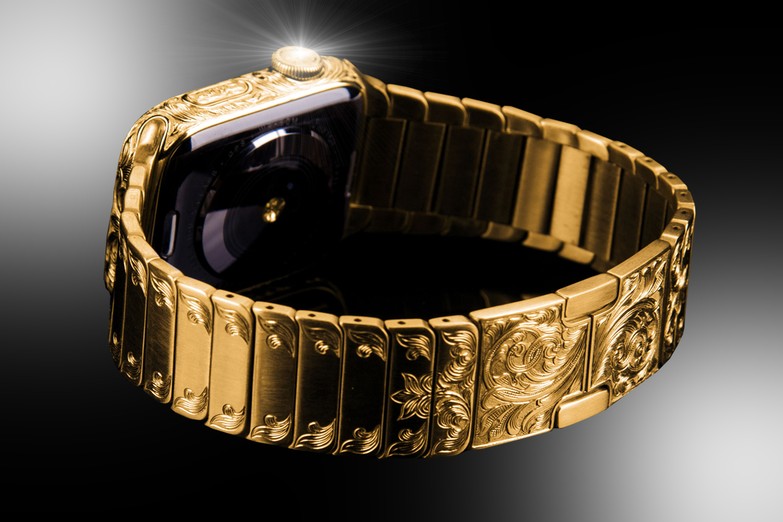Apple Watch Series 6 Super Edition oro/Foto:Goldstriker International.