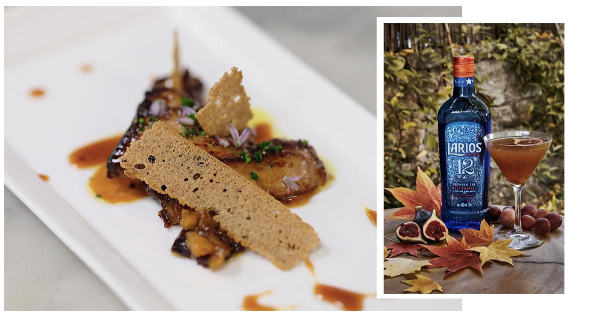 En la imagen, una tapa de foie- gras con ginebra y mermelada de higos. /Foto Getty- Cortesía de la marca.