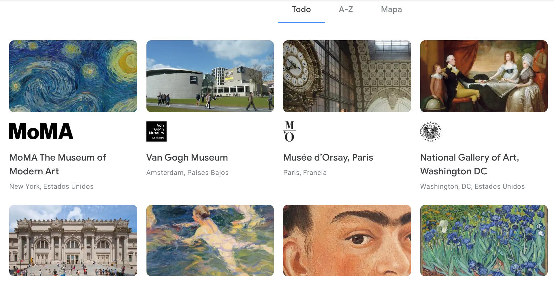 Google ARTS & CULTURE.