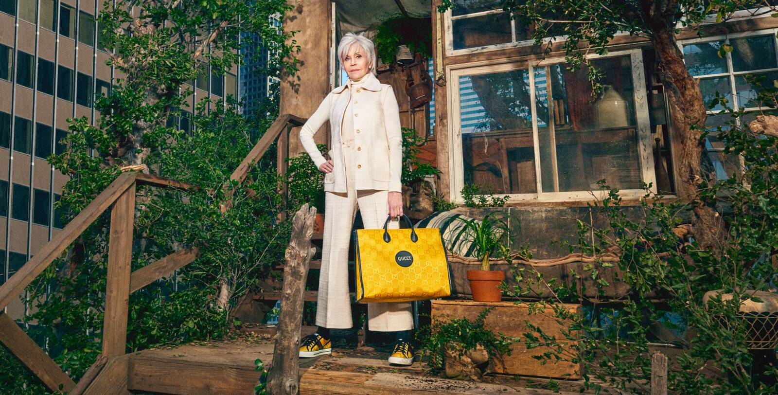 Campaña Gucci Off The Grid con Jane Fonda