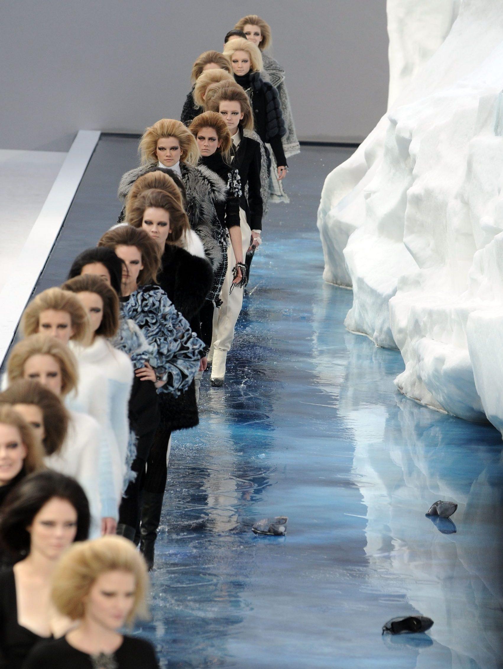 Desfile de Chanel, 2010